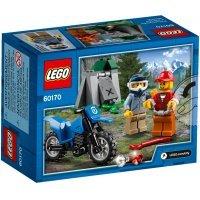 kupit-КОНСТРУКТОР LEGO City Police Погоня на внедорожниках (60170)-v-baku-v-azerbaycane