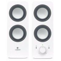 kupit-Акустическая система Logitech Audio System Z200 SNOW WHITE (980-000811)-v-baku-v-azerbaycane