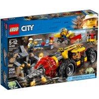 kupit-КОНСТРУКТОР LEGO City Mining Тяжелый бур для горных работ (60186)-v-baku-v-azerbaycane