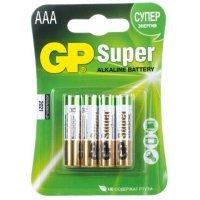 kupit-Батарейки GP battery Super Alkaline AAA(4) 24A-2UE4-v-baku-v-azerbaycane