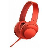Наушники Sony MDR-100AAP Red