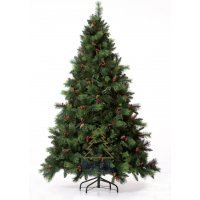 kupit-Елка Royal Christmas PHOENIX PP / PVC PREMIUM - HINGED (1.80 metr)-v-baku-v-azerbaycane
