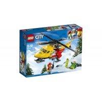 kupit-КОНСТРУКТОР LEGO City Great Vehicles Вертолёт скорой помощи (60179)-v-baku-v-azerbaycane