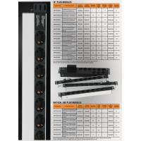 kupit-Mirsan 6xIEC 320 C13 Socket Group Plug, 1U  casing, 1x16A fuse protected, DIN  49441 plug (MR.PRZ1U6S.IE)-v-baku-v-azerbaycane