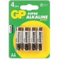 kupit-Батарейки GP battery Super Alkaline AA(4) 15A-2UE4-v-baku-v-azerbaycane