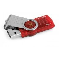 флеш память usb 8GB DataTraveler 101 Gen 2 (Red) (DT101G2/8GB)