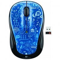 Беспроводная мышь Logitech Blue Smile Graffiti Collection (M325)