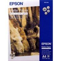 купить Бумага EPSON MATTER PAPER-HEAVYWEIGHT A4 (C13S041256)
