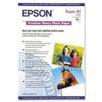 купить Бумага EPSON PREMIUM GLOSSY PHOTO PAPER A3 (C13S041316)