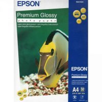 купить Бумага EPSON Premium Glossy Photo Paper A4, 50 sheets (C13S041624)