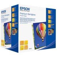 купить Бумага EPSON PREMIUM SEMIGLOSS PHOTO PAPER 10x15 500 Sheets (C13S042200)