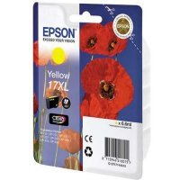 купить Картридж EPSON CARTRIDGE I/C (y) XP33/203/303 HAV3-P (Claria Home 17XL) (C13T17144A10)