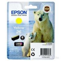 купить Картридж EPSON CARTRIDGE I/C (y) XP600/7/8 (C13T26144010)