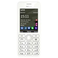 Мобильный телефон Nokia 206.1 (White & Black)