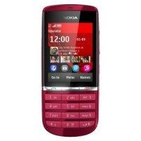 Мобильный телефон Nokia Asha 300 (Red)