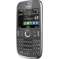 Мобильный телефон Nokia Asha 302 (dark grey)