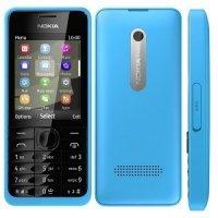 Мобильный телефон Nokia 301 cyan