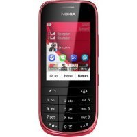 Мобильный телефон Nokia Asha 202 Dual Sim (Dark Red)