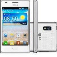 Мобильный телефон LG Optimus L5 Dual LGE615 White