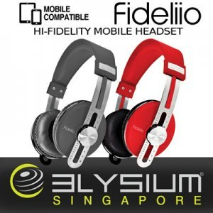 Наушники SoniGear Headphone Elysium Fideliio Slate Grey