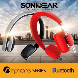 Наушники SoniGear BT Headphone AirPhone 300L Slate Grey