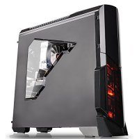 Компьютерный корпус Thermaltake Versa N21 /Black/Win/SGCC (CA-1D9-00M1WN-00)