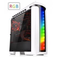 Компьютерный корпус Thermaltake Versa C22 RGB Snow/White/Win/SPCC/Full Window (CA-1G9-00M6WN-00)