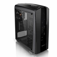 Компьютерный корпус Thermaltake Versa N27/Black/Win/SGCC/Full Window (CA-1H6-00M1WN-00)