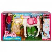 """Игра MATTEL """"Барби"""" - Кукла и лошадь мечты (звук, движение) (FRV36)"""