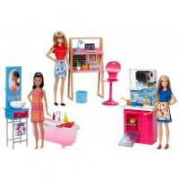 Игра MATTEL Barbie® Room & Doll Asst (3) (DVX51)