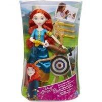 kupit-Игра HASBRO  Модная кукла принцесса и ее хобби, Принцессы Дисней, Мерида (B9146EU40)-v-baku-v-azerbaycane