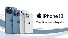 Наслаждайтесь новым İPhone 13