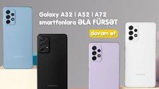 Samsung A32, A52, A72 smartfonlarına endirim