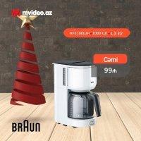 kupit-Капельная кофеварка Braun KF3100WH-v-baku-v-azerbaycane