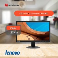 "Монитор Lenovo D22-10 / 21.5"" Full HD (65E4KAC6EU)"