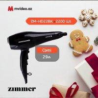 kupit-Фен Zimmer ZM-HD22Bk (Black / purple)-v-baku-v-azerbaycane