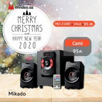 kupit-Акустическая система мультимедиа 2,1 Mikado 14 Вт Bluetooth + USB SD FM (MD-216BT)-v-baku-v-azerbaycane