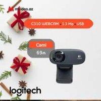 kupit-WEB-камера LOGITECH HD Webcam C310 (960-001065)-v-baku-v-azerbaycane