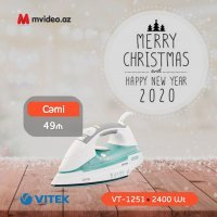kupit-Утюг Vitek VT-1251 (Blue White)-v-baku-v-azerbaycane