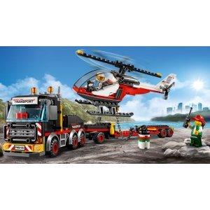 КОНСТРУКТОР LEGO City Great Vehicles Перевозчик вертолета (60183)