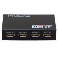 HDMI-разветвитель 1x4 с усилителем до 30м