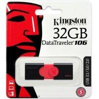 Флеш память USB Kingston 32 GB 3.0 DataTraveler 106 (DT106/32GB)