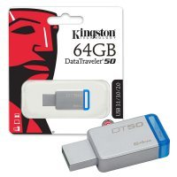 Флеш память USB Kingston 64 GB 3.0 DataTraveler 50 (DT50/64GB)