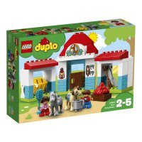 КОНСТРУКТОР LEGO DUPLO Town Конюшня на ферме (10868)