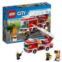 kupit-КОНСТРУКТОР LEGO City Fire Пожарный автомобиль с лестницей (60107)-v-baku-v-azerbaycane