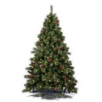 kupit-Елка Royal Christmas COLORADO PP / PVC PREMIUM WARM LED + CONES - HINGED (2.10 metr)-v-baku-v-azerbaycane