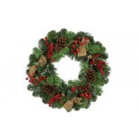kupit-Венок Royal Christmas aston wreath with (90sm)-v-baku-v-azerbaycane
