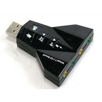 USB Sound adapter virtual 7,1