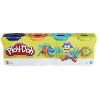kupit-Hasbro Play-Doh PD Dinosaurs 4 баночки (B5517)-v-baku-v-azerbaycane
