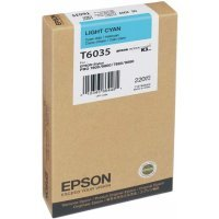 Картридж Epson I/C SP-7880/9880 220ml Light Cyan (C13T603500)